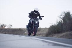 Yamaha MT 03 2020 vs Kawasaki Z400 2020 prueba 33