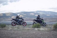 Yamaha MT 03 2020 vs Kawasaki Z400 2020 prueba 4