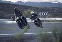 Yamaha MT 03 2020 vs Kawasaki Z400 2020 prueba 6