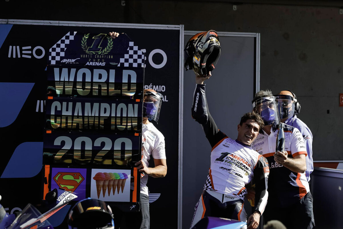 Albert Arenas Aspar Team Moto3 2020 Portugal 1