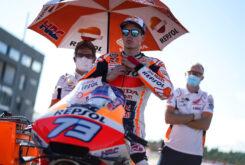 Alex Marquez MotoGP Valencia 2020 parrilla