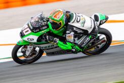 Darryn Binder Moto3 pole Valencia 2020