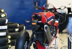 Dunlop GP Racer D212 slick prueba 1