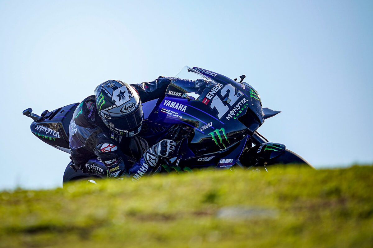 Maverick Viñales MotoGP Yamaha Portugal 20201
