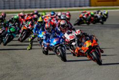 MotoGP Valencia 2020 salida