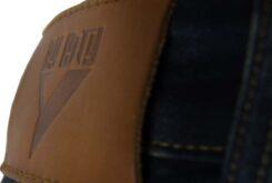 Pantalones moto ByCity Tejano III stone etiqueta