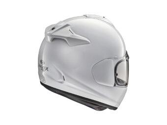 Arai Chaser X blanco rear