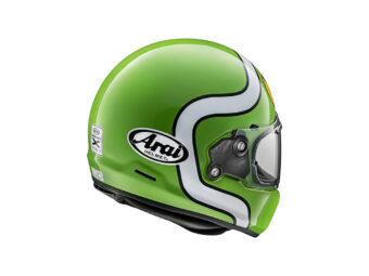 Arai Concept X verde rear