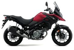 Suzuki V Strom 650 2020 roja