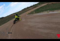 Video vuelta onboard circuito VR46 Flat track Rancho Valentin Rossi 1