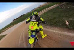Video vuelta onboard circuito VR46 Flat track Rancho Valentin Rossi 10