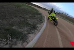 Video vuelta onboard circuito VR46 Flat track Rancho Valentin Rossi 3
