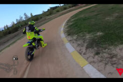 Video vuelta onboard circuito VR46 Flat track Rancho Valentin Rossi 4