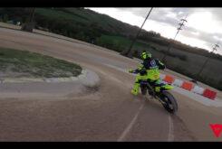 Video vuelta onboard circuito VR46 Flat track Rancho Valentin Rossi 6