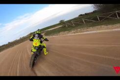 Video vuelta onboard circuito VR46 Flat track Rancho Valentin Rossi 9