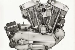 Harley Davidson Big Twin V motor 3