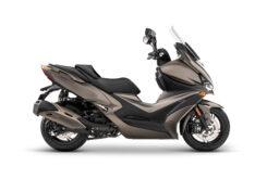 KYMCO Xciting S 400 2021 marron (1)