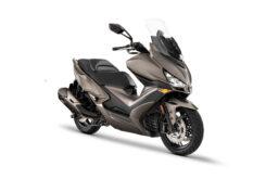 KYMCO Xciting S 400 2021 marron (2)