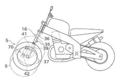 Kawasaki moto 3 ruedas bikeleaks patente