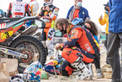 Toby Price Dakar 2021 abandono