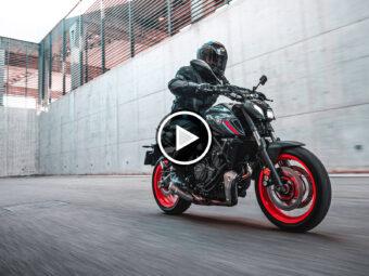 Yamaha MT 07 PresentacionPlay