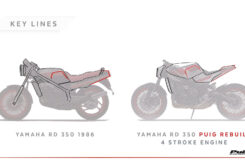 Yamaha RD 350 2021 Puig 1