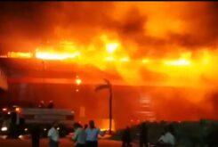 Incendio Termas Rio Hondo