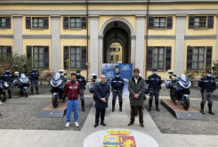 MV Agusta Turismo Veloce Lusso SCS policia italiana (9)
