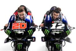 Monster Energy Yamaha MotoGP 2021 Yamaha YZR M1 Maverick Vinales Fabio Quartararo (99)