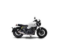 Morton Motorcycle WARRIOR WHITE