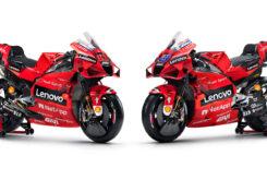 Presentación Ducati MotoGP 2021 Desmosedici GP1