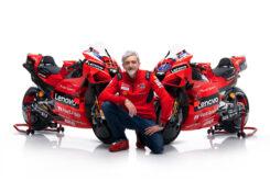 Presentación Ducati MotoGP 2021 Desmosedici GP12