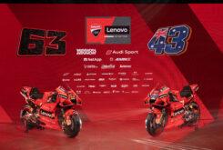 Presentación Ducati MotoGP 2021 Desmosedici GP27