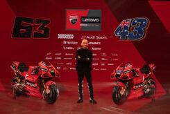 Presentación Ducati MotoGP 2021 Desmosedici GP28