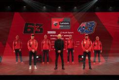 Presentación Ducati MotoGP 2021 Desmosedici GP29