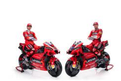 Presentación Ducati MotoGP 2021 Desmosedici GP57