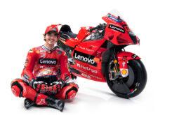 Presentación Ducati MotoGP 2021 Desmosedici GP74
