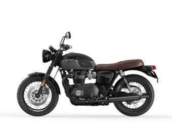 Triumph Bonneville T120 Black 2021 estudio (10)