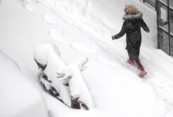 scooter nieve filomena
