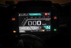 Aprilia RSV4 Factory 2021 prueba display modo user