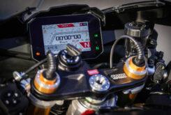 Aprilia RSV4 Factory 2021 prueba instrumentacion