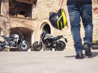 Honda CB650R Triumph Trident 660 2021 2