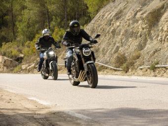 Honda CB650R vs Triumph Trident 660 comparativa 10