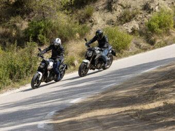Honda CB650R vs Triumph Trident 660 comparativa 11