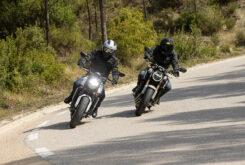Honda CB650R vs Triumph Trident 660 comparativa 15