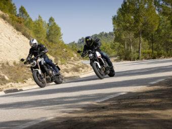 Honda CB650R vs Triumph Trident 660 comparativa 22