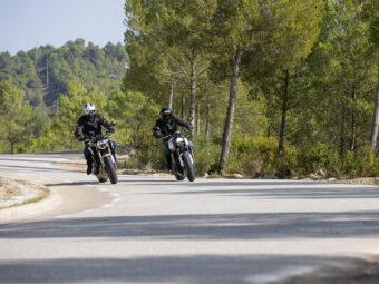 Honda CB650R vs Triumph Trident 660 comparativa 24