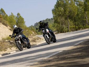Honda CB650R vs Triumph Trident 660 comparativa 25