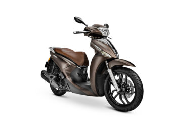 KYMCO People S 125 2021 marron (1)