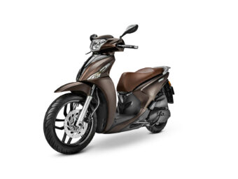 KYMCO People S 125 2021 marron (2)